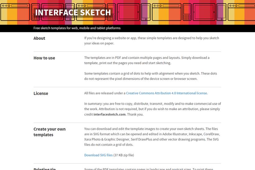 Interface Sketch